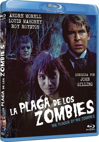 La Plaga De Los Zombies (Blu-Ray) (The Plague Of The Zombies)