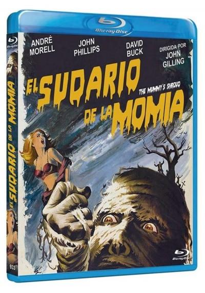 El Sudario De La Momia (Blu-Ray) (The Mummy'S Shroud)