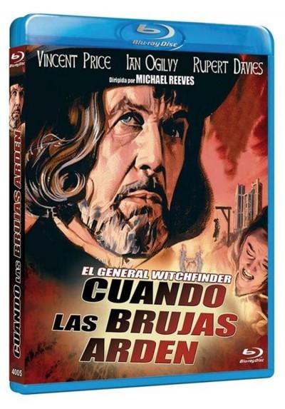 Cuando Las Brujas Arden (Blu-Ray) (Witchfinder General)