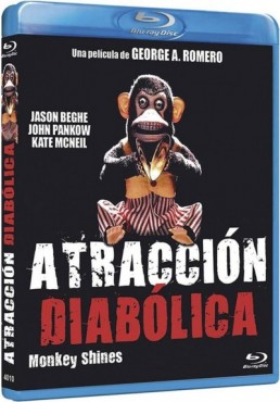Atraccion Diabolica (Blu-Ray) (Monkey Shines)