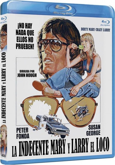 La Indecente Mary Y Larry El Loco (Blu-Ray) (Dirty Mary Crazy Larry)