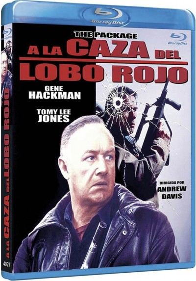 A La Caza Del Lobo Rojo (Blu-Ray) (The Package)