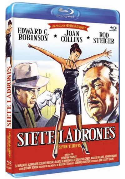 Siete Ladrones (Blu-Ray) (Seven Thieves)