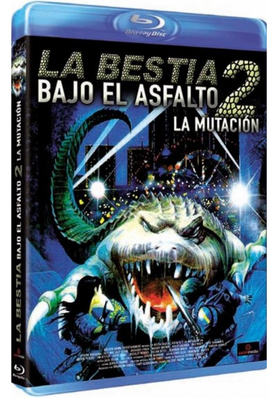 La Bestia Bajo El Asfalto 2 : La Mutacion (Blu-Ray) (BD-R) (Alligator II: The Mutation)
