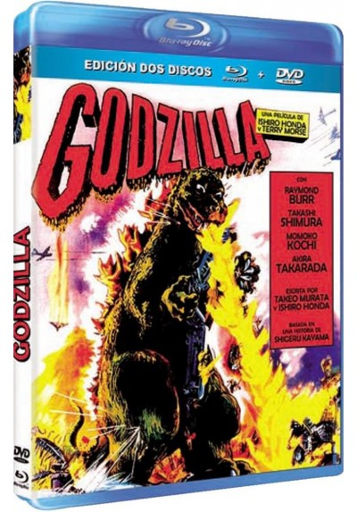 Godzilla (1956) (Blu-Ray + Dvd) (Godzilla, King Of The Monsters!)