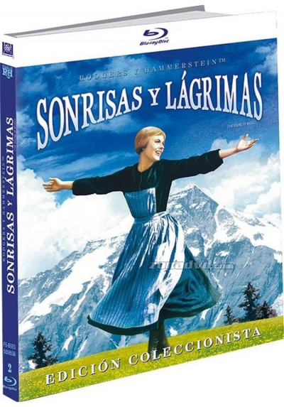 Sonrisas Y Lagrimas (Blu-Ray) (Ed. Libro) (The Sound Of Music)