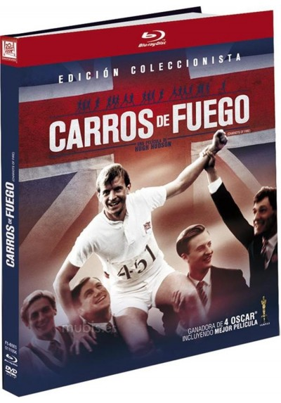Carros De Fuego (Blu-Ray) (Ed. Libro) (Chariots Of Fire)