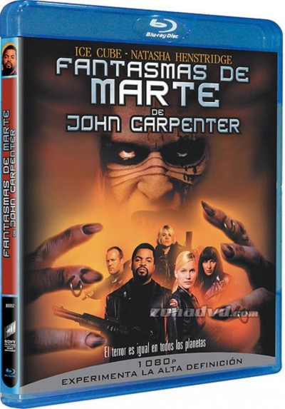 Fantasmas De Marte (Blu-Ray) (Ghosts Of Mars)