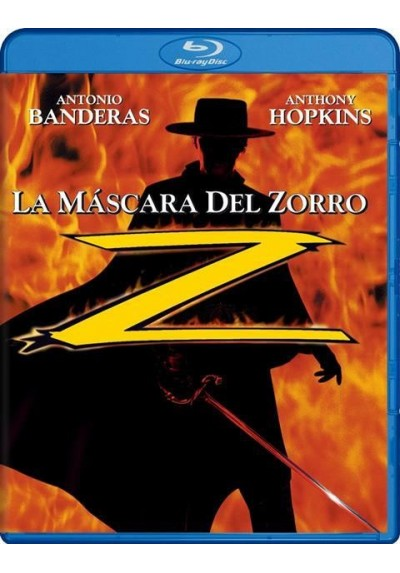 La Mascara Del Zorro (Blu-Ray) (The Mask Of Zorro)