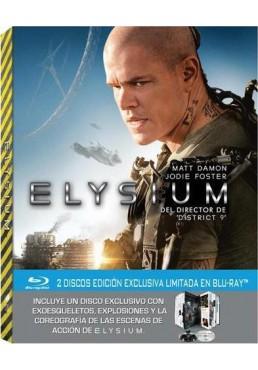 Elysium (Blu-Ray) (Ed. Libro)
