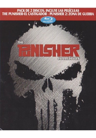 Pack The Punisher (El Castigador) / Punisher 2 : Zona De Guerra (Blu-Ray)