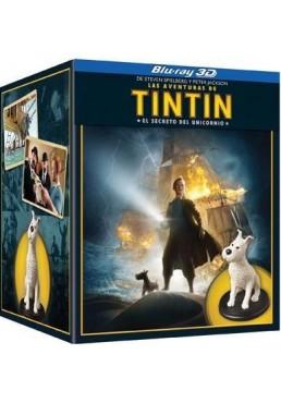 Las Aventuras De Tintin : El Secreto Del Unicornio (Blu-Ray) (Ed. Especial + Figuras)