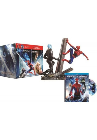 The Amazing Spider-Man 2 : El Poder De Electro: Caja Edicion Limitada (DVD + Figura)