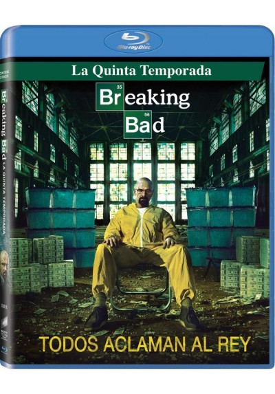 Breaking Bad - 5ª Temporada (Blu-Ray)