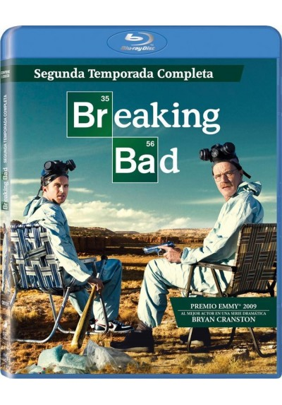 Breaking Bad - 2ª Temporada (Blu-Ray)