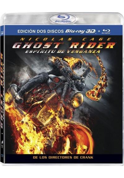Ghost Rider : Espiritu De Venganza (Blu-Ray 3d + Blu-Ray)