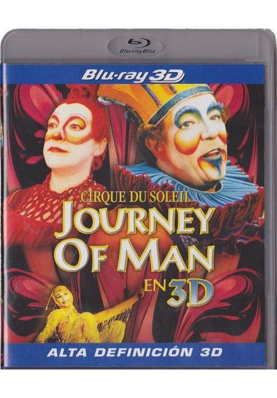 Circo Del Sol : Journey Of Man (Blu-Ray 3d) (Cirque Du Soleil: Journey Of Man)