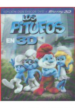 Los Pitufos (Blu-Ray 3d + Blu-Ray + Dvd) (The Smurfs)