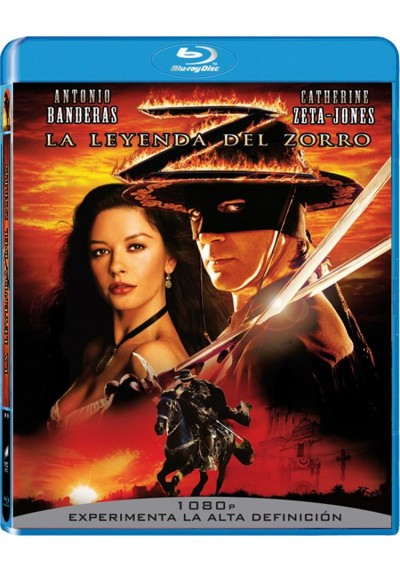 La Leyenda Del Zorro (Blu-Ray) (The Legend Of Zorro)