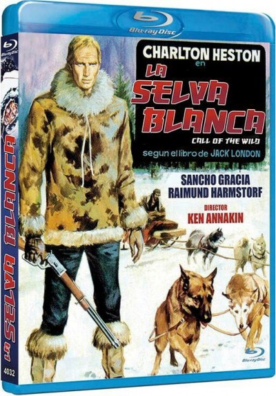 La Selva Blanca (Blu-Ray) (The Call Of The Wild)
