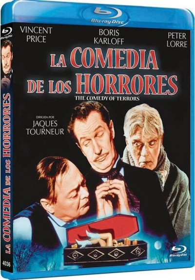 La Comedia De Los Horrores (Blu-Ray) (The Comedy Of Terrors)