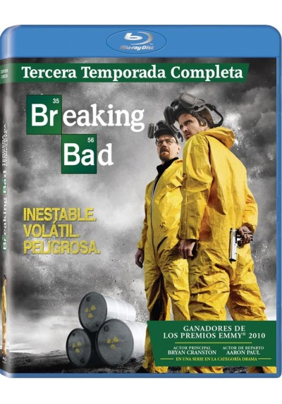 Breaking Bad - 3ª Temporada (Blu-Ray)