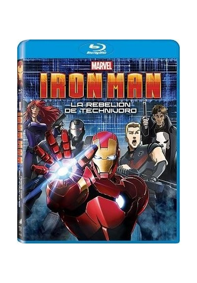 Iron Man - La Rebelion De Technivoro (Blu-Ray) (Iron Man: Rise Of Technovore)