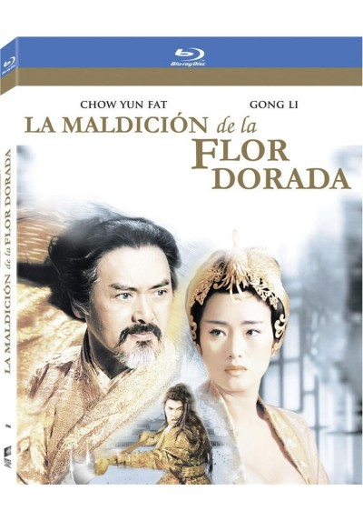 La Maldicion De La Flor Dorada (Blu-Ray) (O-Ring) (The Curse Of The Golden Flower)