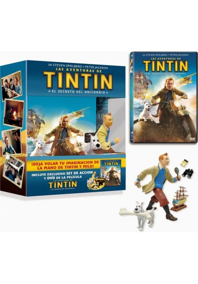 Las Aventuras De Tintin : El Secreto Del Unicornio (Ed. Especial + Figuras) (The Adventures Of Tintin)