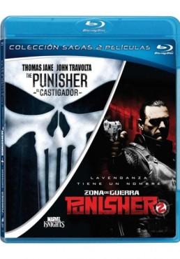 Pack The Punisher (El Castigador) / Punisher 2 : Zona De Guerra (Blu-Ray)