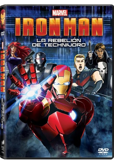 Iron Man - La Rebelion De Technivoro (Iron Man: Rise Of Technovore)