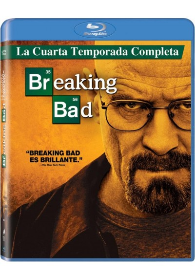 Breaking Bad - 4ª Temporada (Blu-Ray)