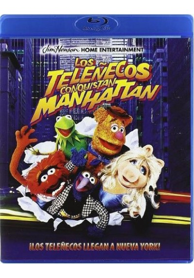 Los Teleñecos Conquistan Manhattan (Blu-Ray) (The Muppets Take Manhattan)