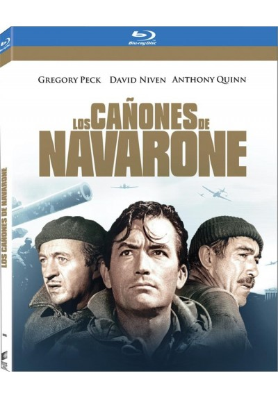 Los Cañones De Navarone (The Guns Of Navarone) (Blu-Ray) (O-Ring)