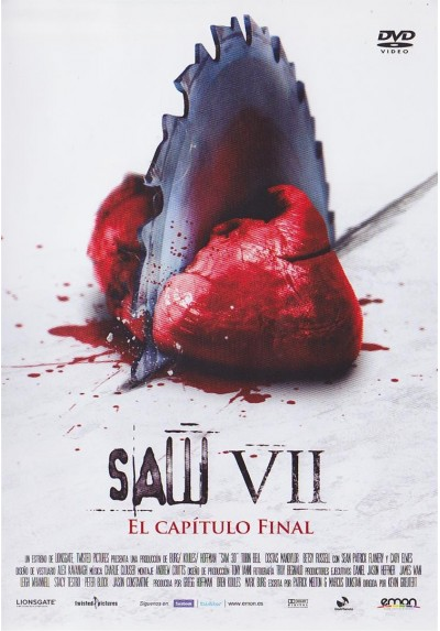 Saw VII : El Capitulo Final (Saw VII : The Final Chapter)