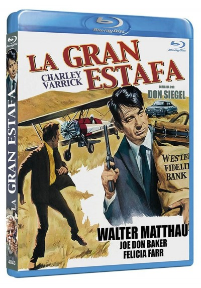 La Gran Estafa (1973) (Blu-Ray) (Charley Varrick)