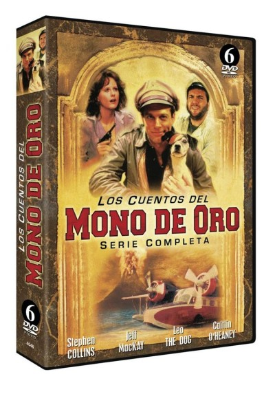 Los Cuentos Del Mono De Oro - Serie Completa (Tales Of The Gold Monkey)