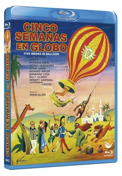 Cinco Semanas En Globo (Blu-Ray) (Five Weeks In A Balloon)