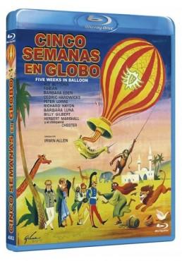 Cinco Semanas En Globo (Blu-Ray) (Five Weeks In A Balloon)