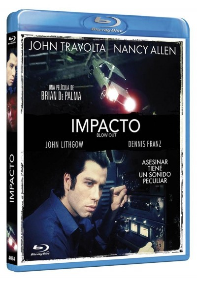 Impacto (Blu-Ray) (Blow Out)