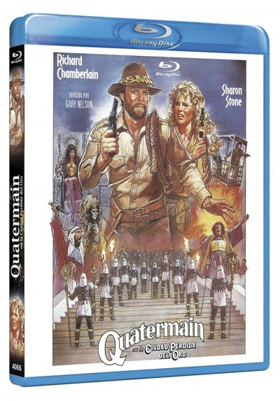 Quatermain En La Ciudad Perdida Del Oro (Blu-Ray) (Allan Quatermain And The Lost City Of Gold)
