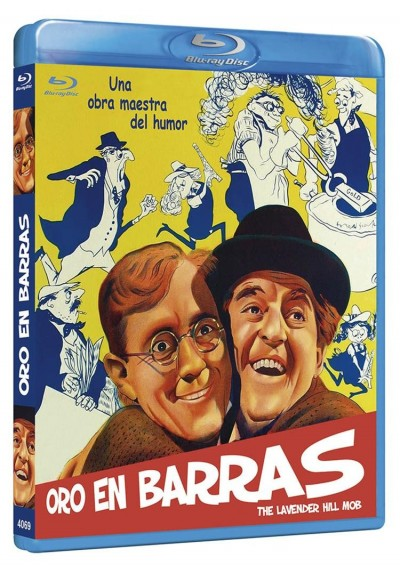 Oro En Barras (Blu-Ray) (The Lavender Hill Mob)