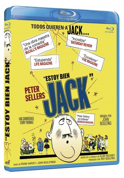 Estoy Bien, Jack (Blu-Ray) (I'M All Right Jack)