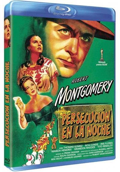 Persecucion En La Noche (Blu-Ray) (Ride The Pink Horse)
