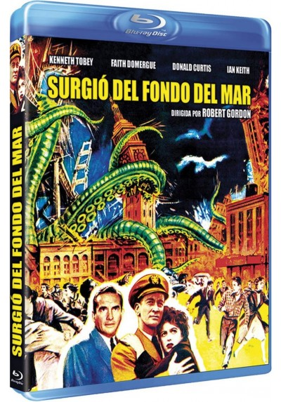 Surgio Del Fondo Del Mar (Blu-Ray) (It Came From Beneath The Sea)