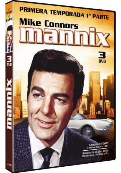 Mannix : 1ª Temporada - Vol. 1