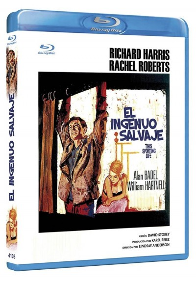 El Ingenuo Salvaje (Blu-Ray) (This Sporting Life)