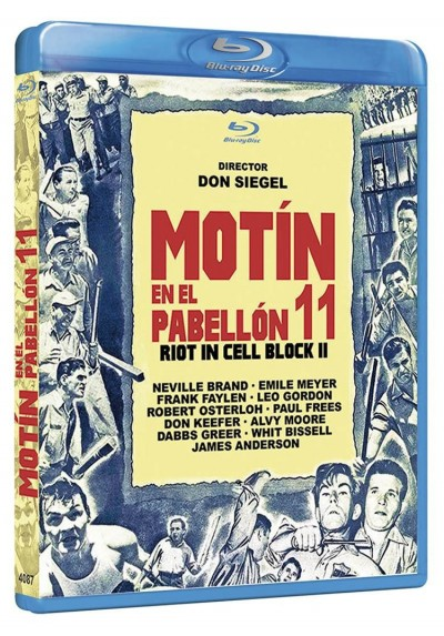 Motin En El Pabellon 11 (Blu-Ray) (Riot In Cell Block 11