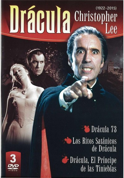 Pack Dracula De Christopher Lee