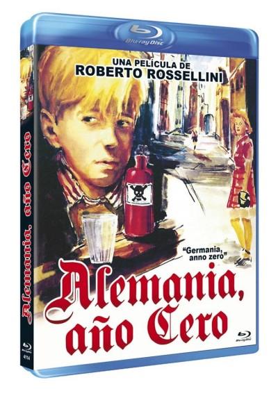 Alemania, Año Cero (Blu-Ray) (Bd-R) (Germania Anno Zero)